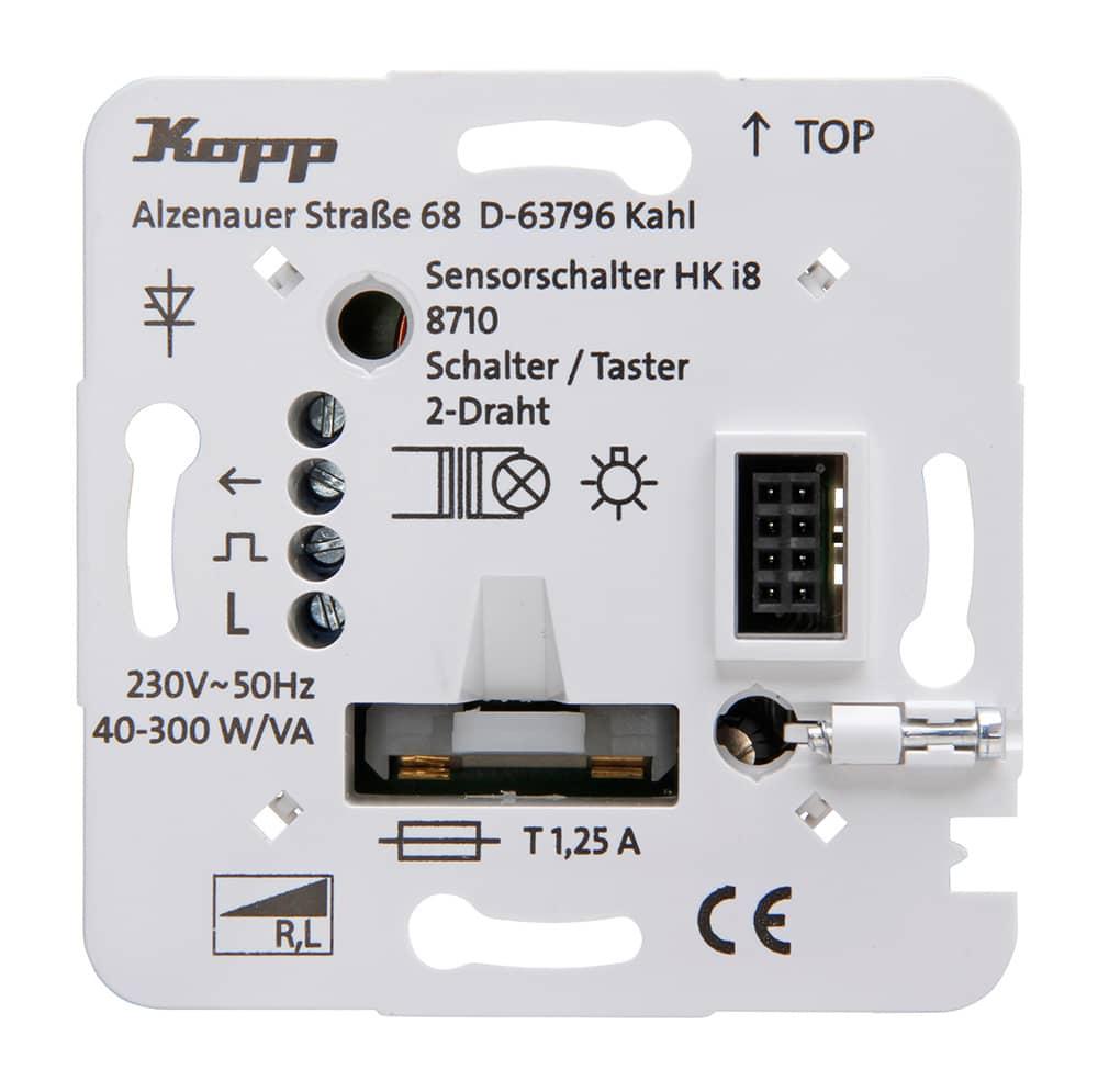 Kopp HK i8 Unterputz-Leistungsteil Schalter/Taster 2-Draht