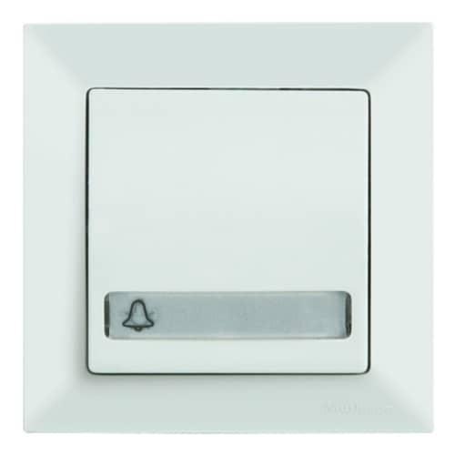 mutlusan candela klingeltaster licht namensschild t rklingel 12v weiss. Black Bedroom Furniture Sets. Home Design Ideas