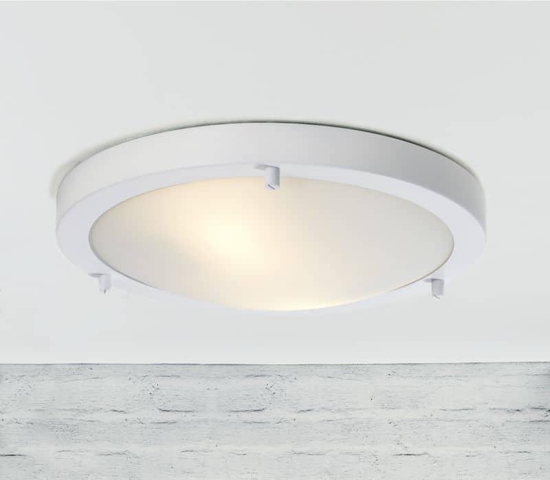 nordlux 25246101 led deckenleuchte ancona 12w f r bad dusche ip44 wassergesch tz. Black Bedroom Furniture Sets. Home Design Ideas