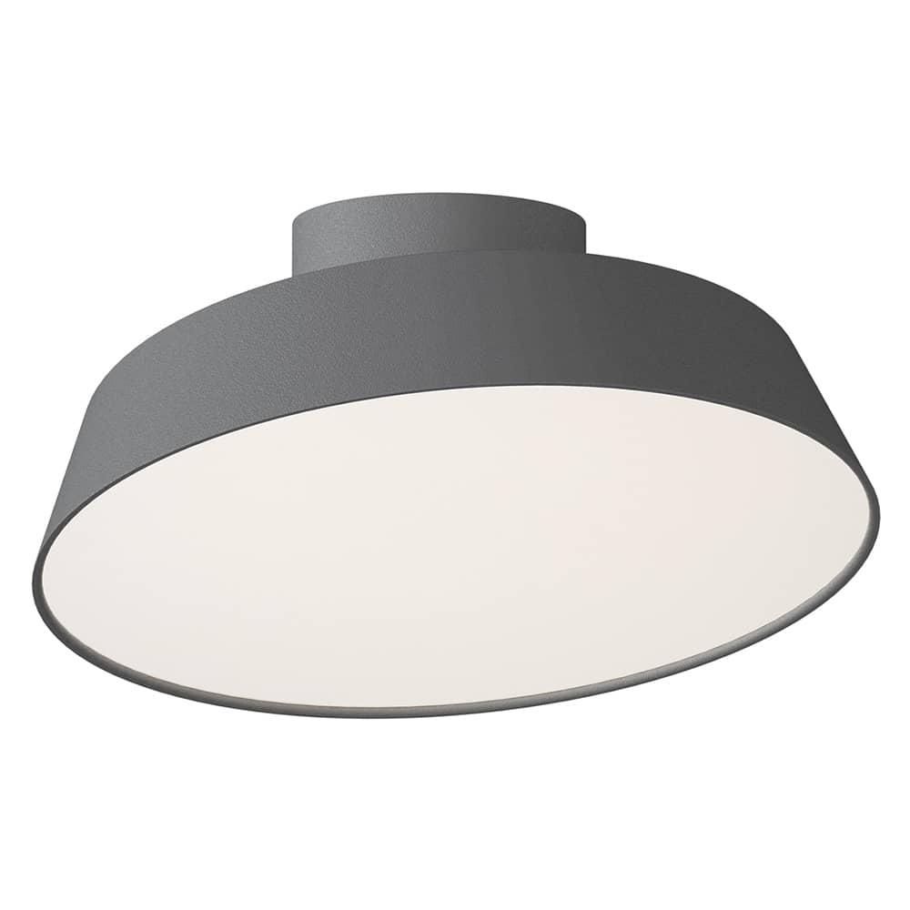 Nordlux led deckenleuchte alba 12w grau schwenkbar 77196010 for Deckenleuchte grau
