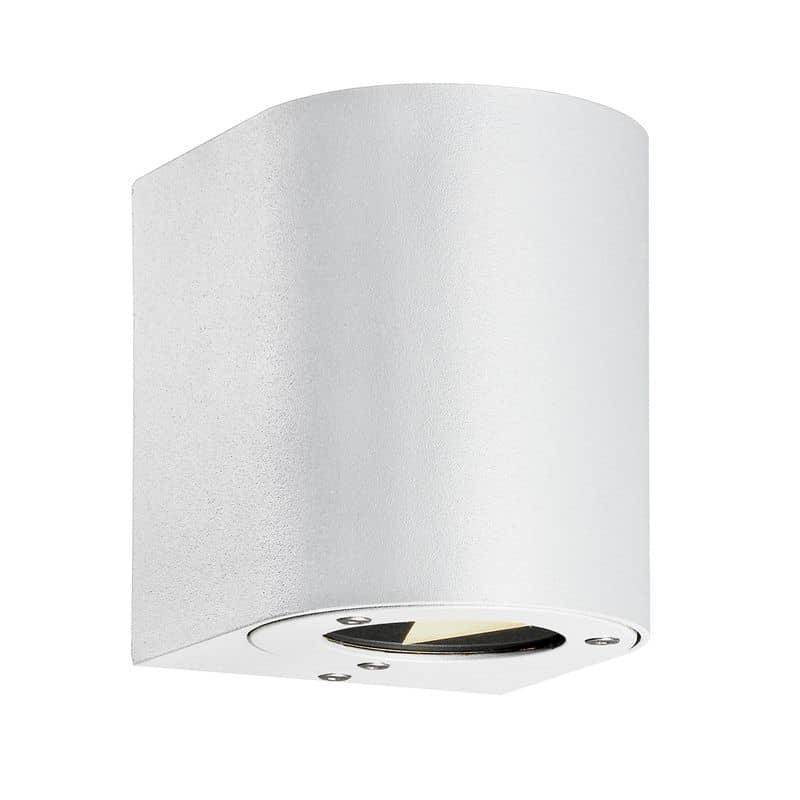 Nordlux led wandleuchte canto 2x3w weiss mit lichtfilter for Nordlux leuchten