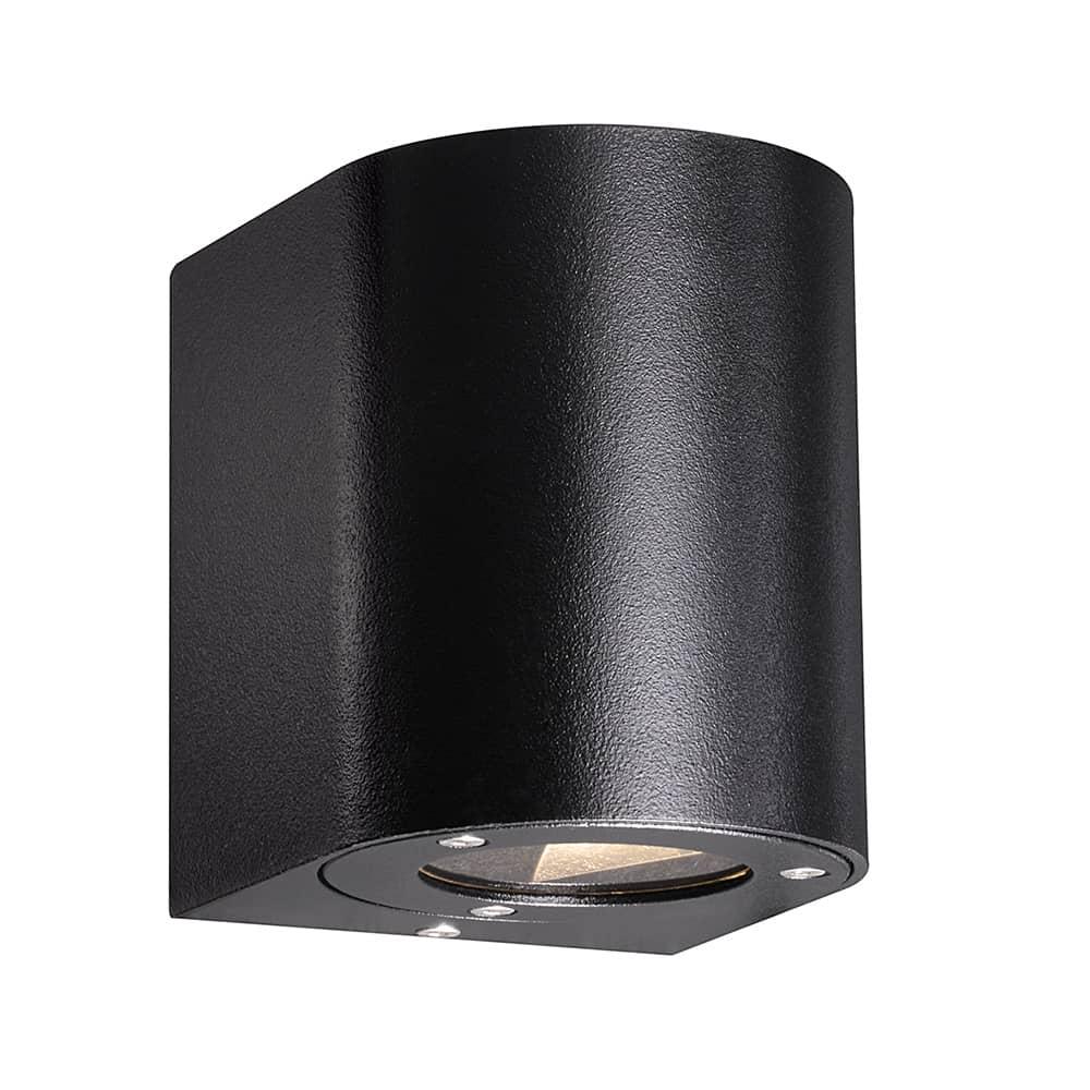 Nordlux LED AußenWandleuchte Canto 6W + Lichteffekte -> Nordlux Led Wandleuchte Canto Edelstah