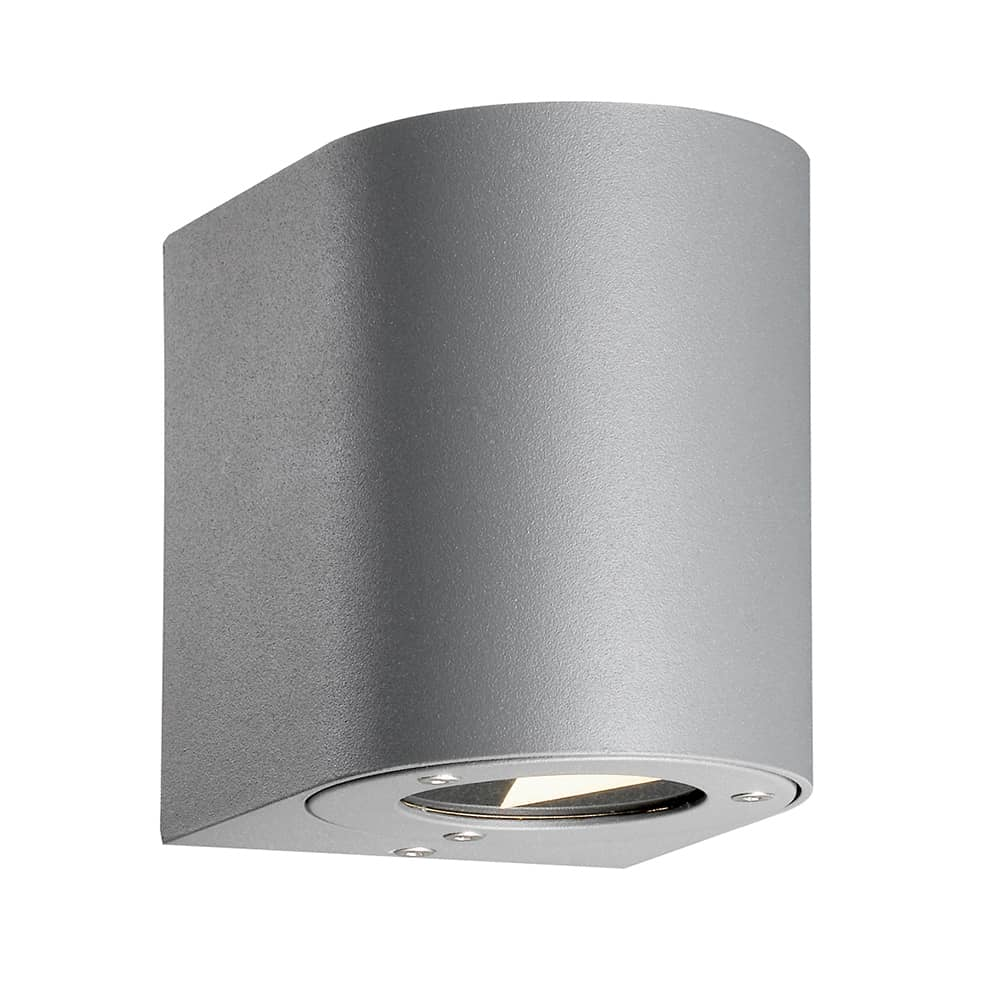Nordlux LED Wandleuchte Outdoor Canto 6W + Lichtfilter -> Nordlux Led Wandleuchte Canto Edelstah