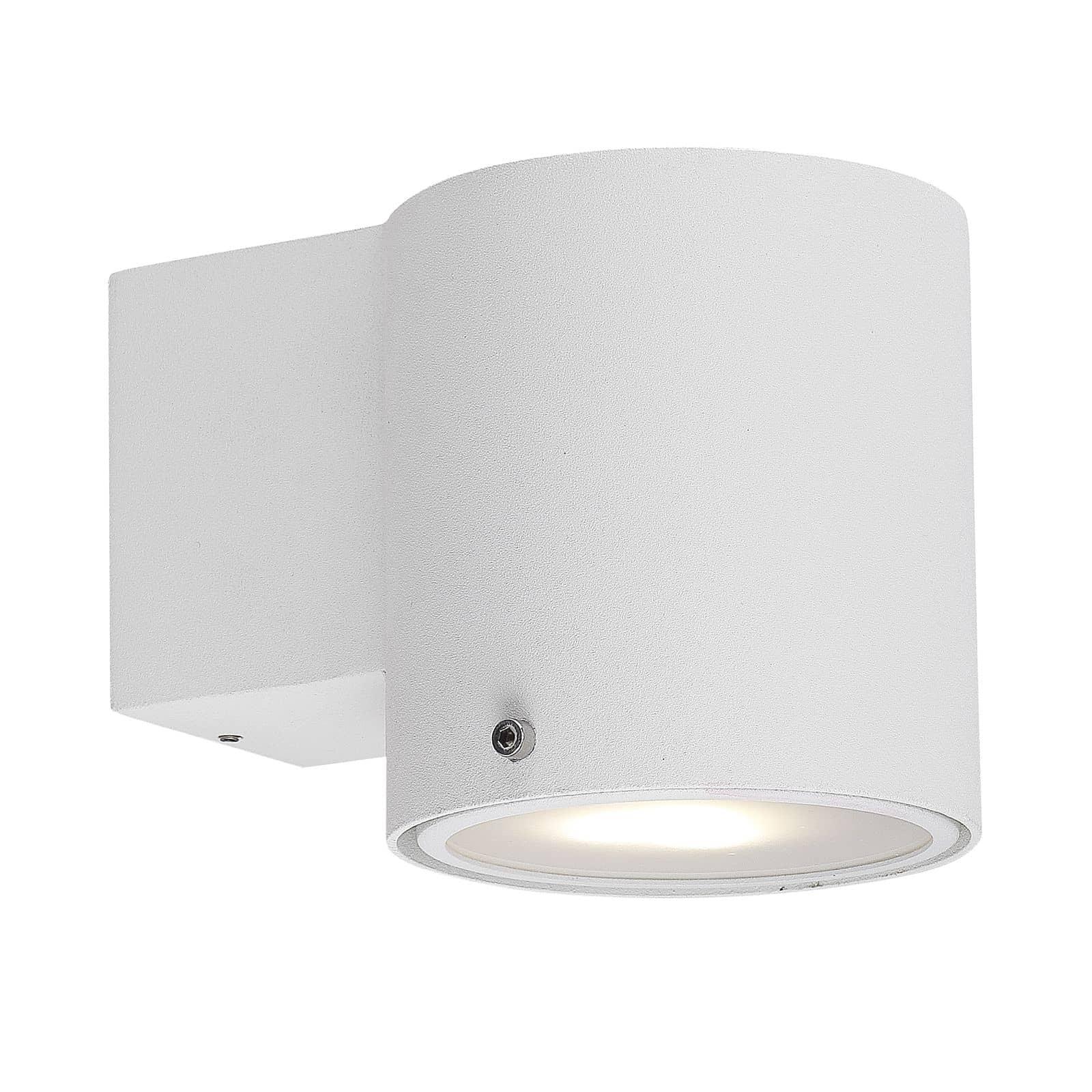 nordlux 78521001 ip s5 wandleuchte gu10 metall weiss ip44. Black Bedroom Furniture Sets. Home Design Ideas