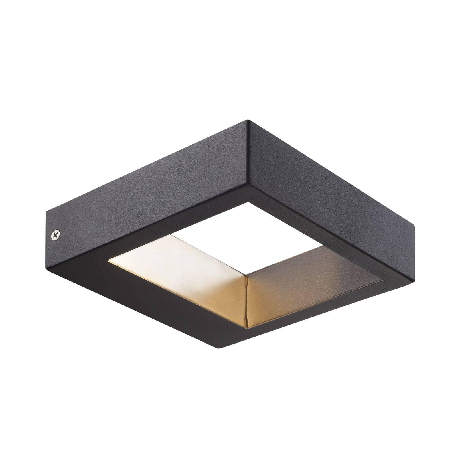 Nordlux 84111003 avon led wandleuchte 3w metall schwarz ip44 for Nordlux leuchten
