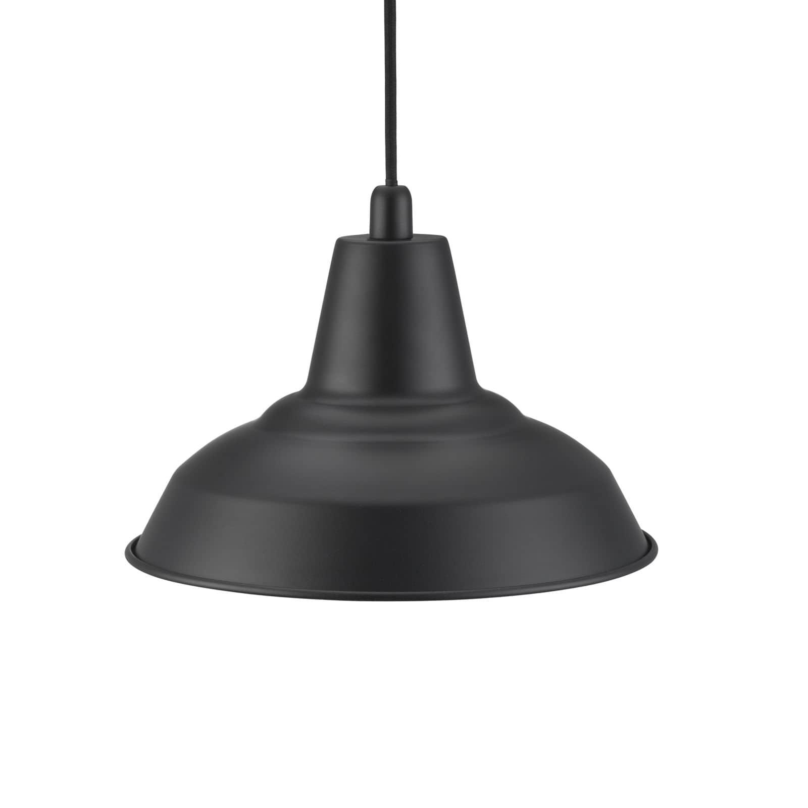 nordlux 84813003 lyne h ngelampe e27 metall schwarz hier. Black Bedroom Furniture Sets. Home Design Ideas