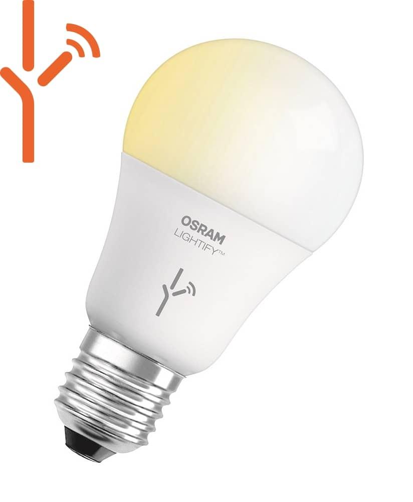 osram e27 led lampe lightify classic 9 5w 810lm warm kalt. Black Bedroom Furniture Sets. Home Design Ideas