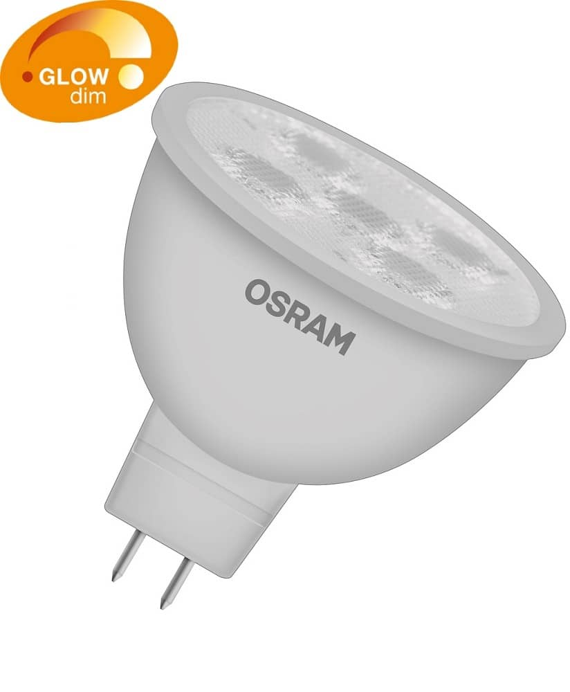 osram mr16 led spot gu5 3 parathom adv 5w 330lm dimmbar warmweiss. Black Bedroom Furniture Sets. Home Design Ideas