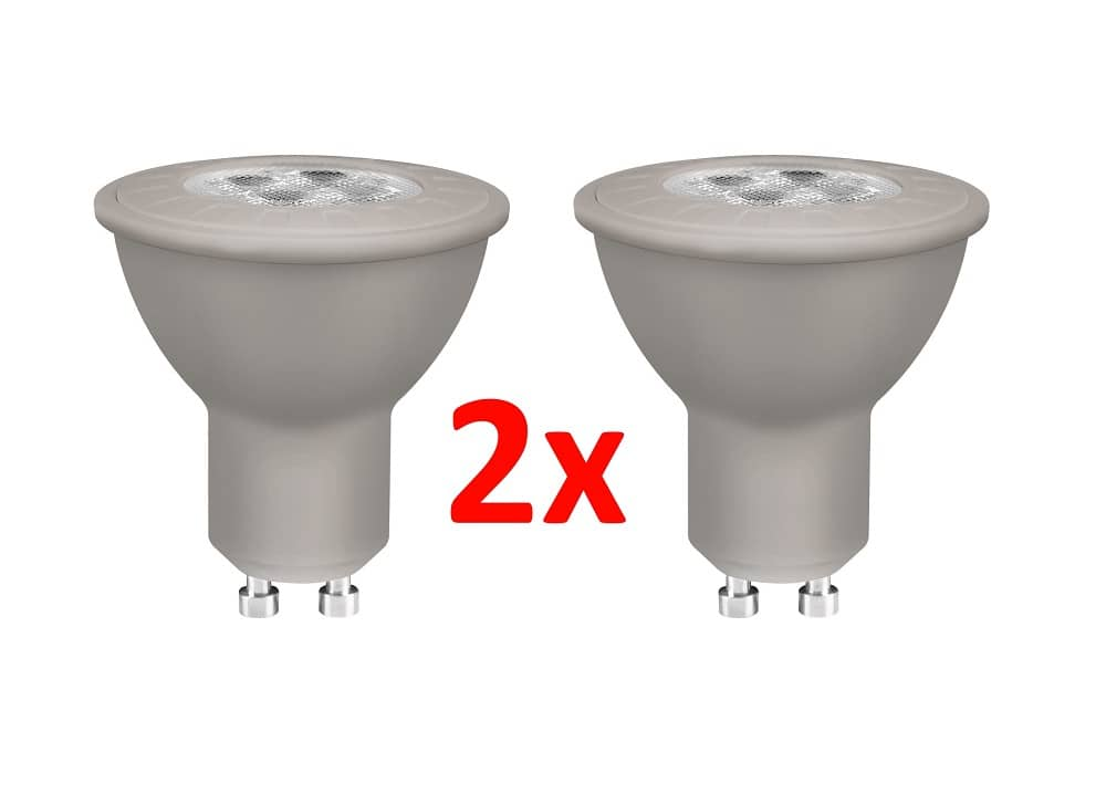 osram gu10 led strahler star 4w 230lm warmweiss doppelpack ebay. Black Bedroom Furniture Sets. Home Design Ideas
