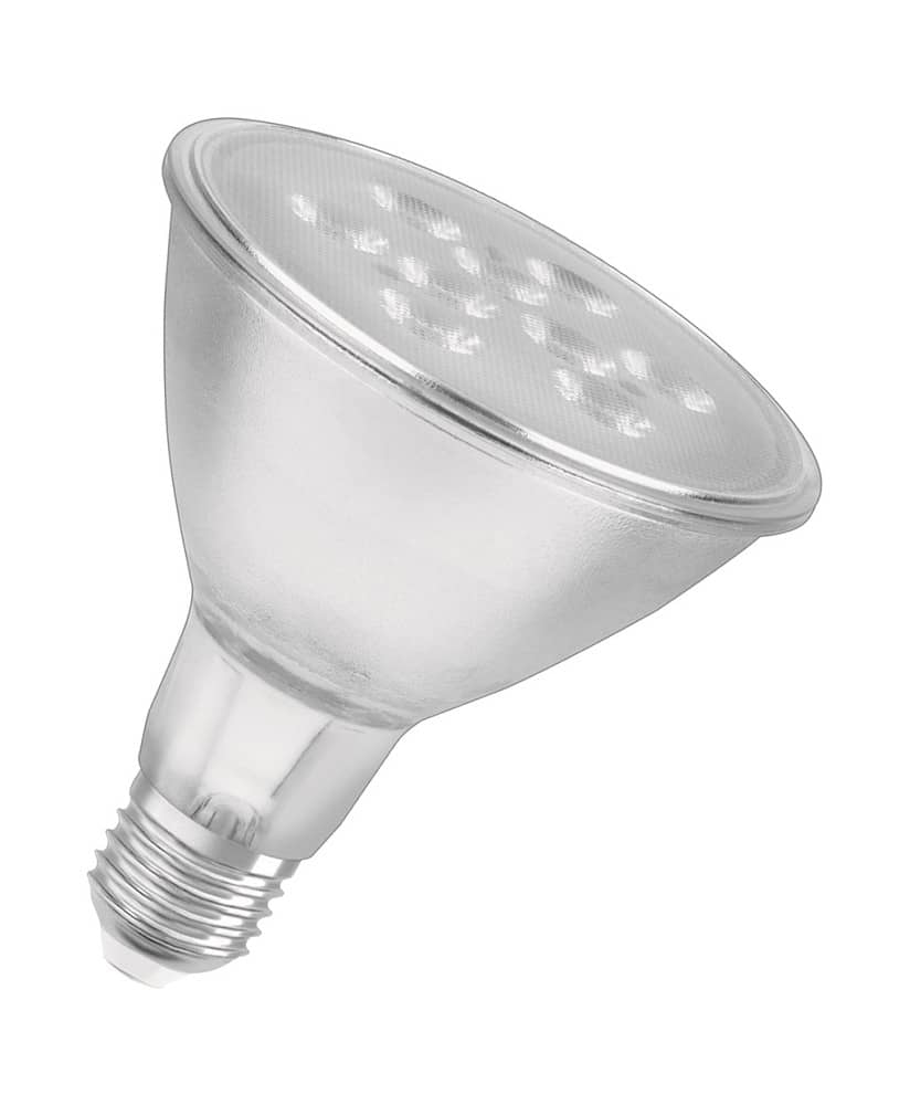 osram e27 led spot parathom par30 8w 650lm dimmbar warmweiss ebay. Black Bedroom Furniture Sets. Home Design Ideas