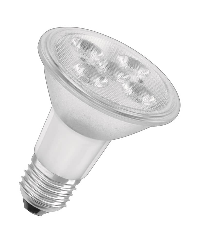 osram e27 led spot superstar par20 5w 350lm dimmbar warmweiss ebay. Black Bedroom Furniture Sets. Home Design Ideas