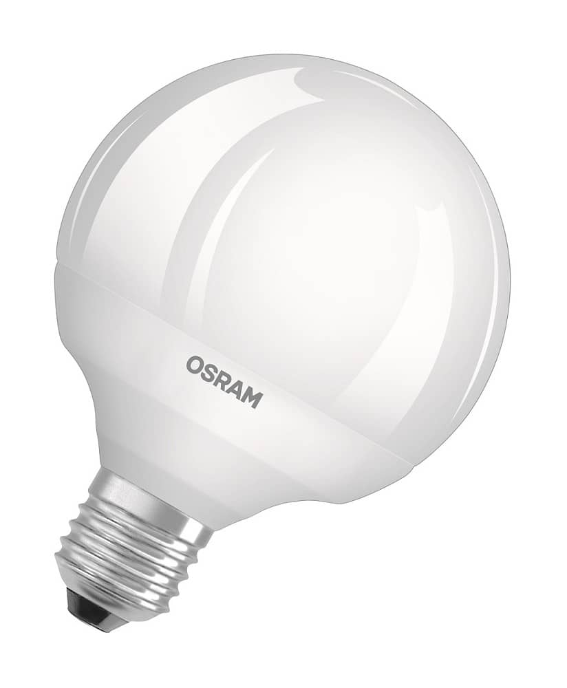 osram e27 led globe superstar 12w dimmbar warmweiss. Black Bedroom Furniture Sets. Home Design Ideas