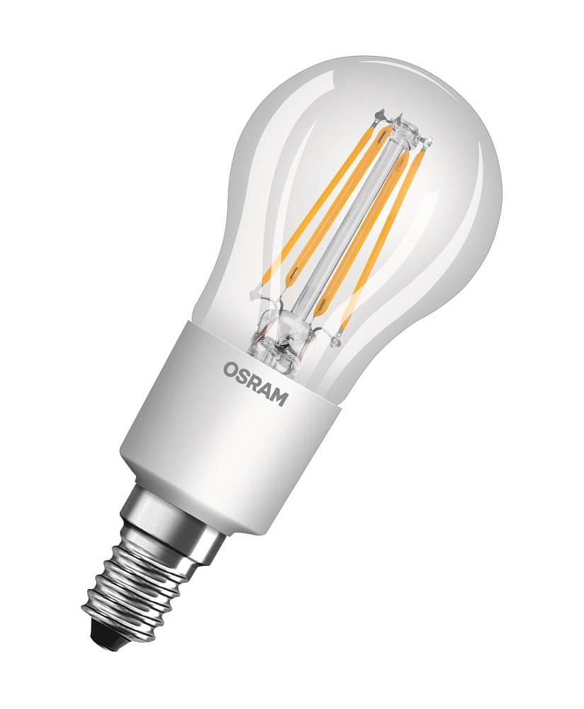 osram e14 led tropfen retrofit filament 4 5w warmweiss jetzt kaufen. Black Bedroom Furniture Sets. Home Design Ideas