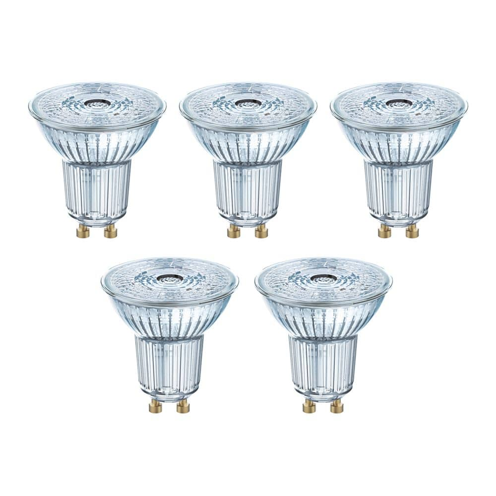 5er-Set Bioledex HELSO Glas LED Spot GU10 90Ra 3W 240Lm 38° 2700K Warmweiss 90Ra