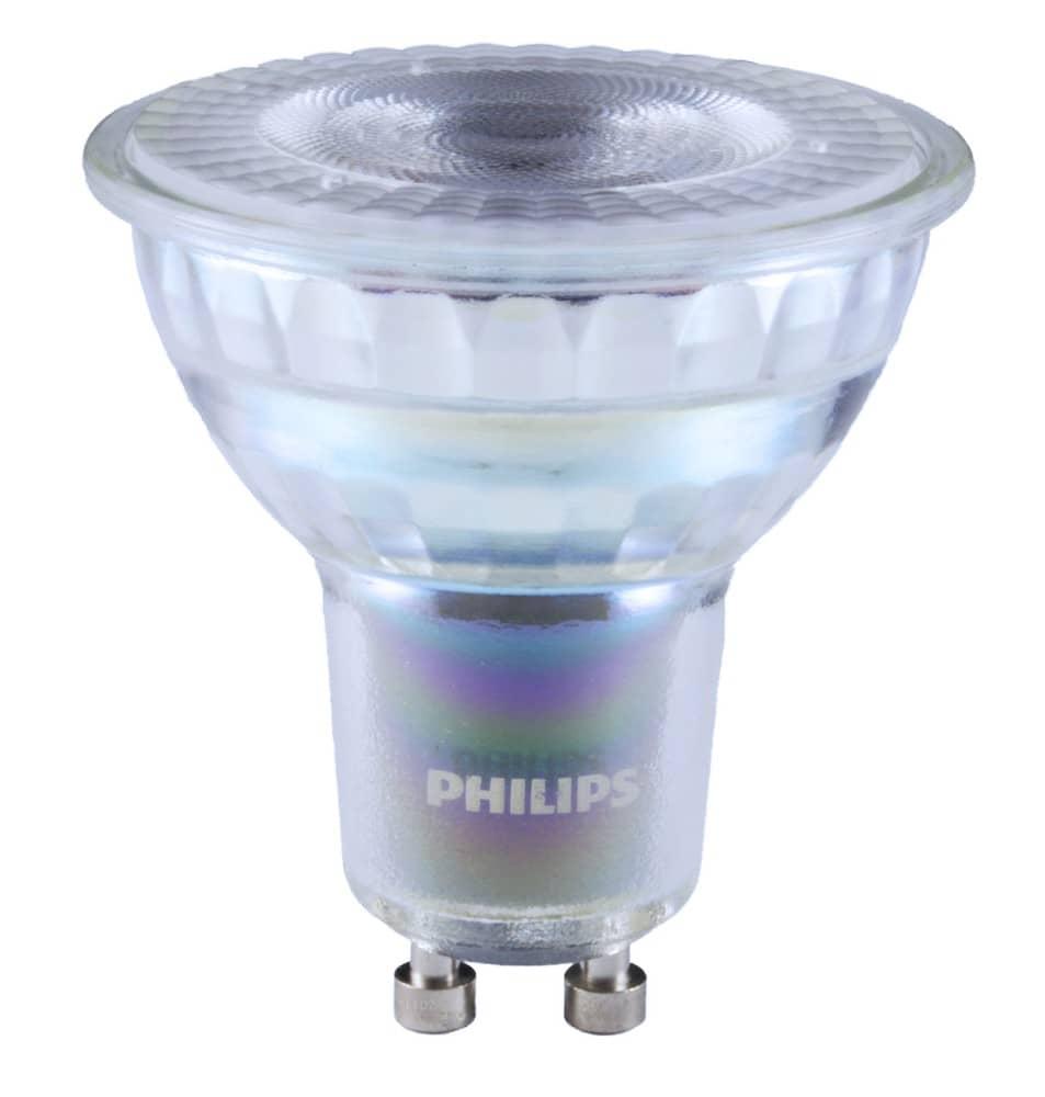 philips master gu10 led spot expertcolor 5 5w 355lm. Black Bedroom Furniture Sets. Home Design Ideas