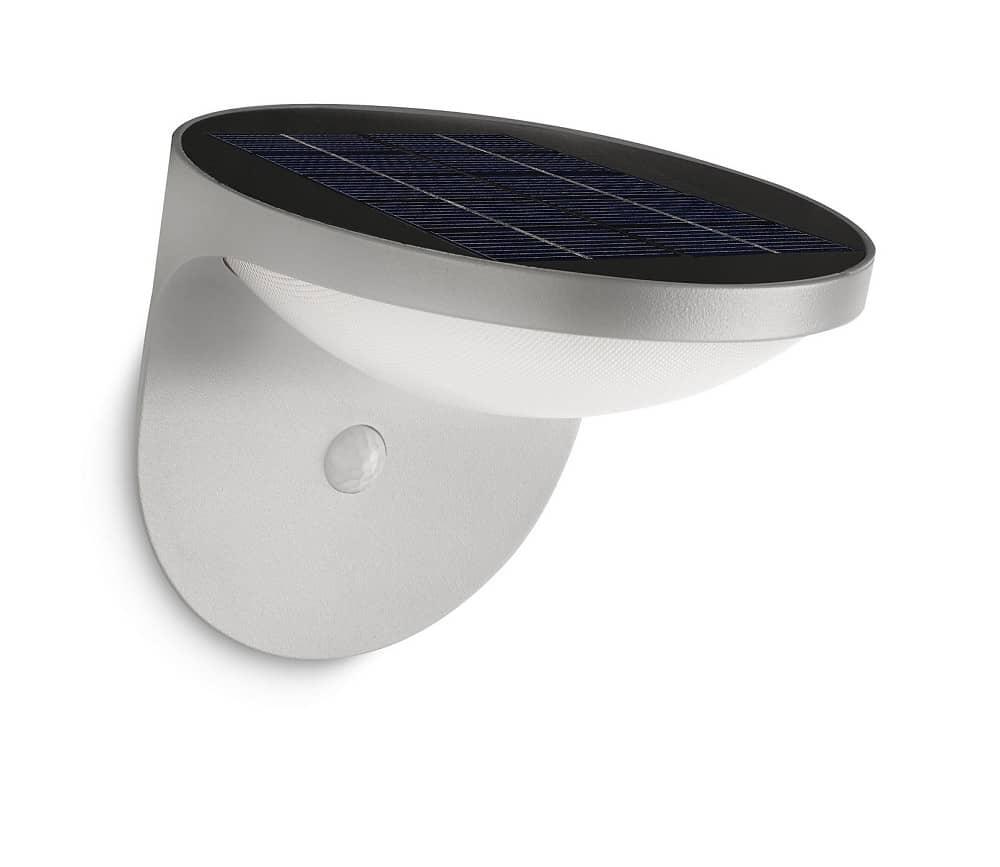 philips dusk led solarleuchte 1w grau sensor 178088716. Black Bedroom Furniture Sets. Home Design Ideas