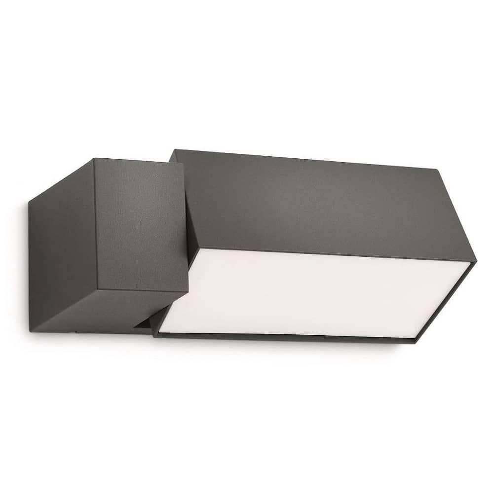philips es senleuchte 16942 93 16 ecomoods border anthrazit. Black Bedroom Furniture Sets. Home Design Ideas