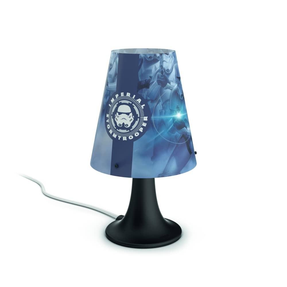 philips led starwars tischleuchte 2 3w schwarz717959916. Black Bedroom Furniture Sets. Home Design Ideas