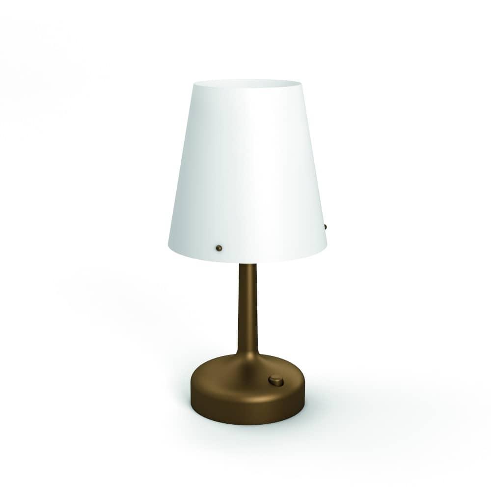 philips led moodlighting tischleuchte bronze71796 06 p0. Black Bedroom Furniture Sets. Home Design Ideas