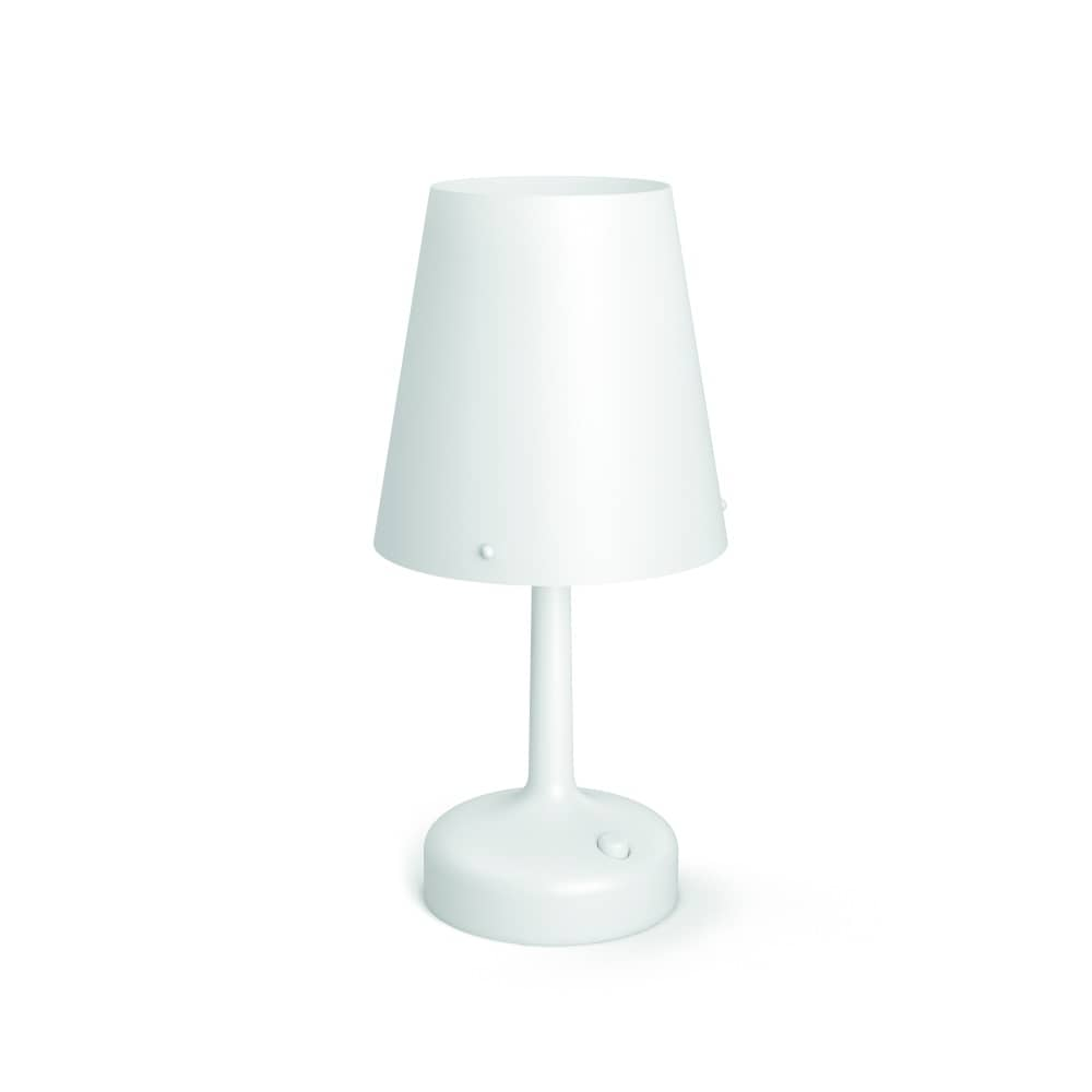 philips led moodlighting tischleuchte weiss 71796 31 p0 ebay. Black Bedroom Furniture Sets. Home Design Ideas