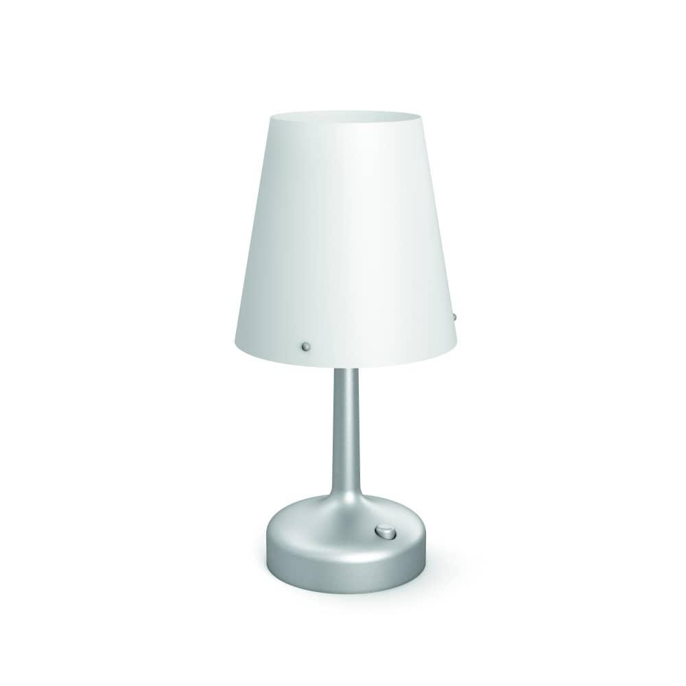 philips led moodlighting tischleuchte silber 71796 48 p0. Black Bedroom Furniture Sets. Home Design Ideas