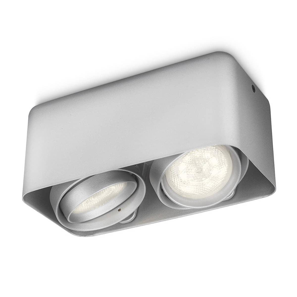 philips led deckenspot afzelia 2x3w 53202 48 16. Black Bedroom Furniture Sets. Home Design Ideas