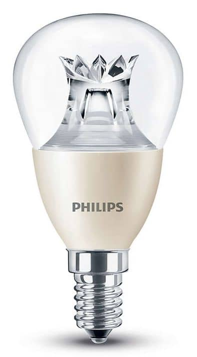 philips e14 led tropfen warmglow 6w 470lm warmweiss dimmbar. Black Bedroom Furniture Sets. Home Design Ideas