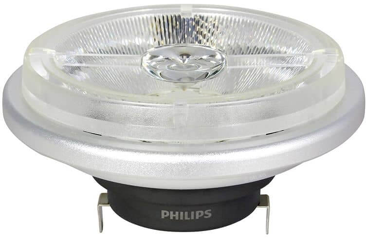 philips g53 ar111 led spot master 11w 550lm 40 2700k dimmbar. Black Bedroom Furniture Sets. Home Design Ideas