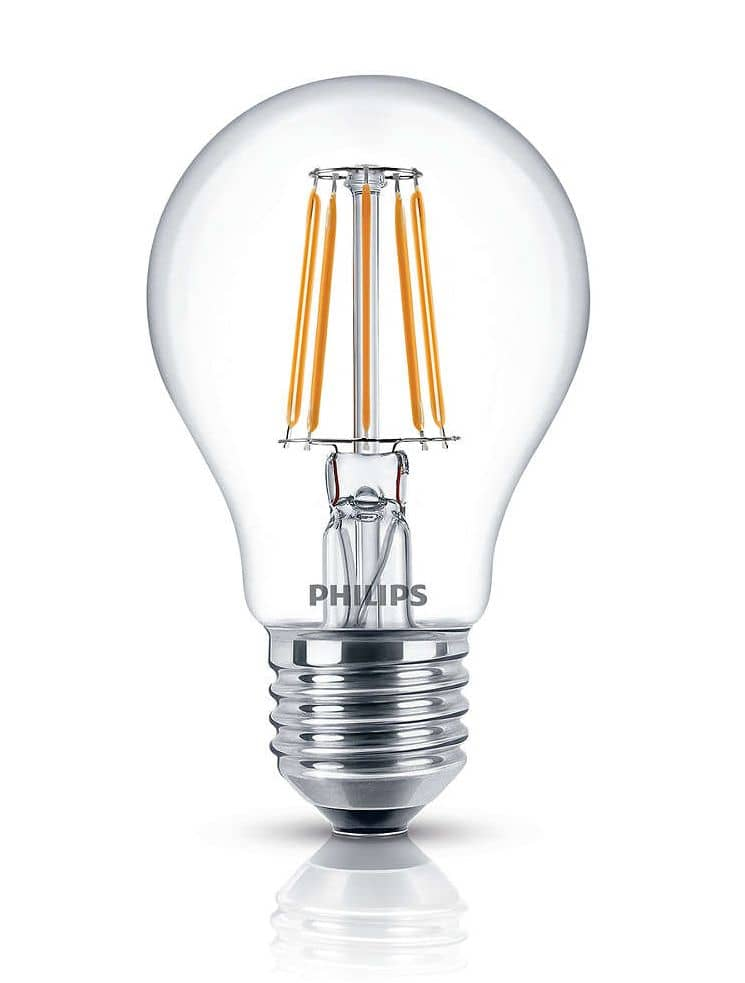 philips e27 led birne filament 7 5w 806lm klar warmweiss ebay. Black Bedroom Furniture Sets. Home Design Ideas