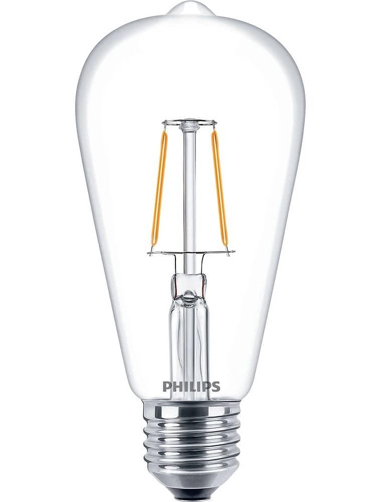 philips e27 led birne deco filament 7 5w 806lm warmweiss. Black Bedroom Furniture Sets. Home Design Ideas
