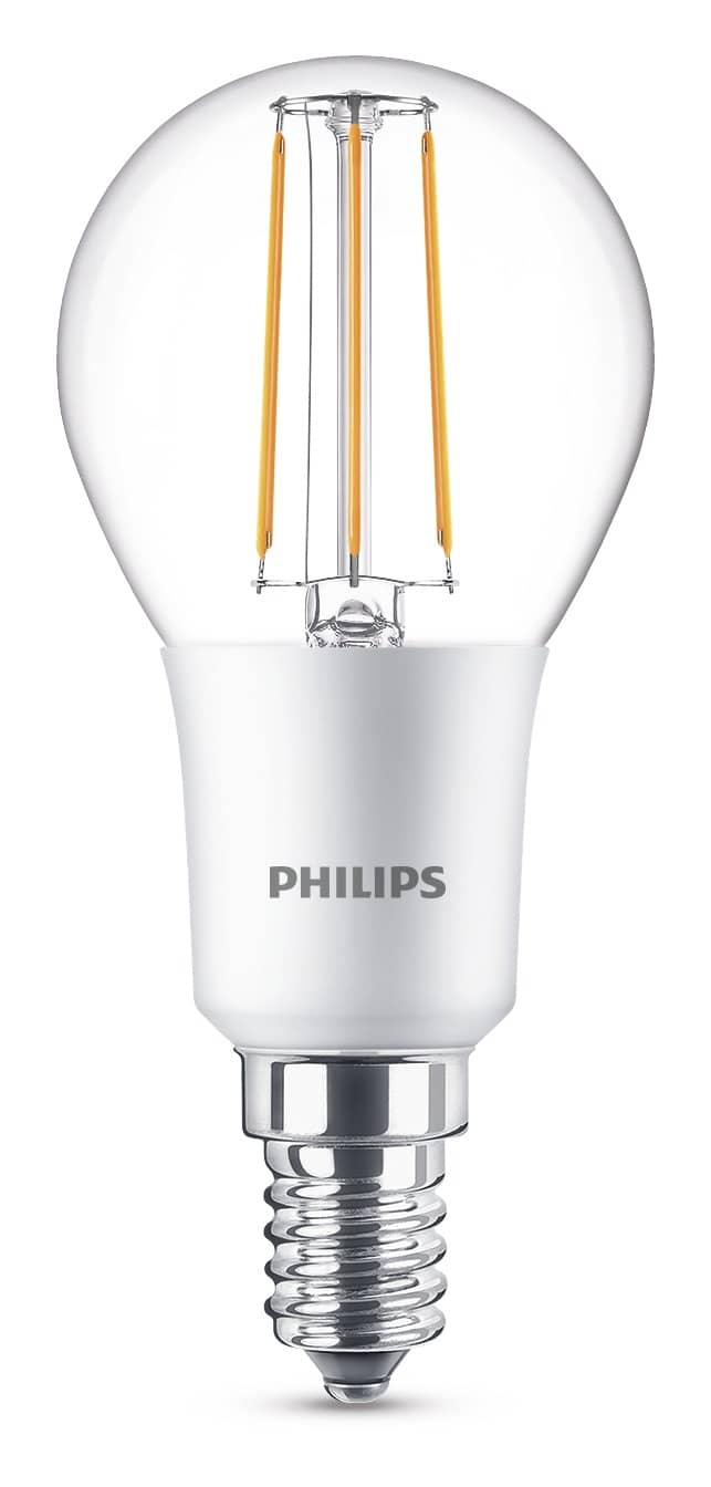 philips e14 led tropfen filament 5w 470lm warmweiss ebay. Black Bedroom Furniture Sets. Home Design Ideas
