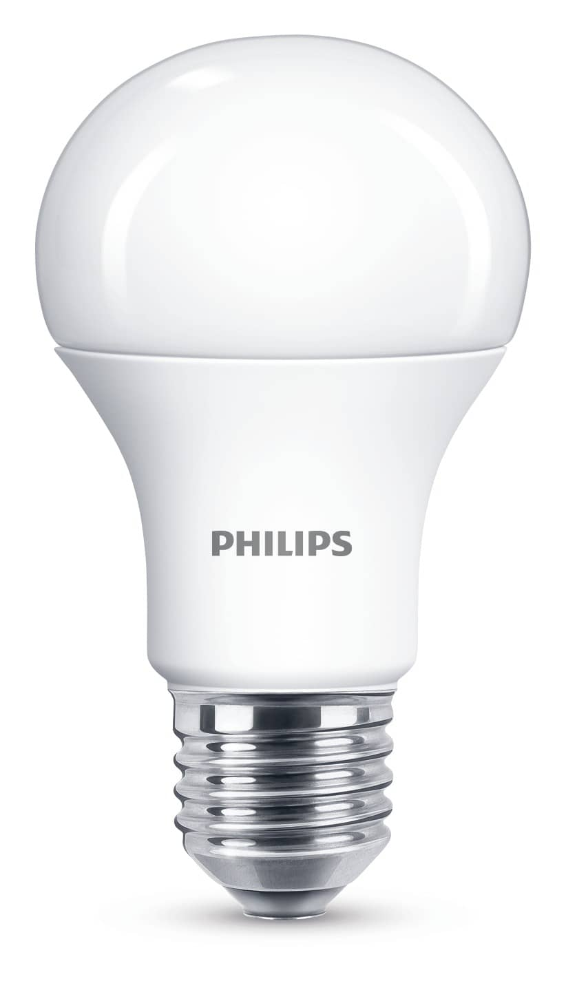 philips e27 led lampe 11 5w 1055lm dimmbar warmweiss. Black Bedroom Furniture Sets. Home Design Ideas
