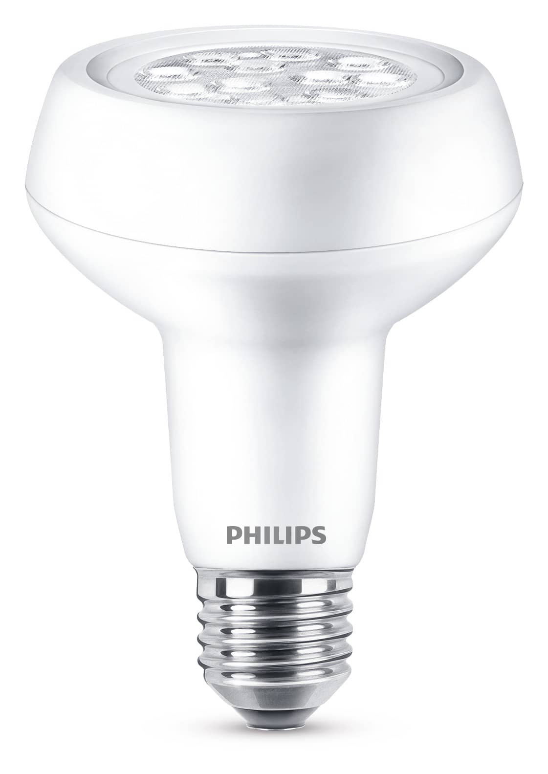 philips e27 r80 led reflektor 3 7w 360lm warmweiss. Black Bedroom Furniture Sets. Home Design Ideas