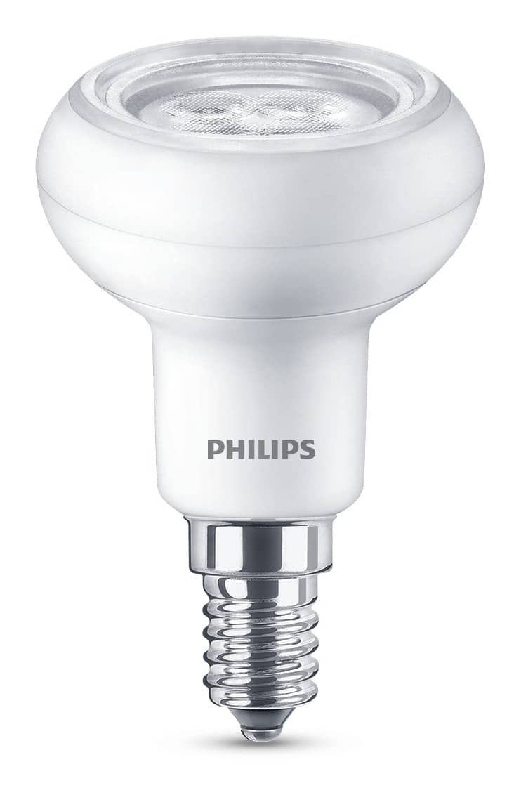philips e14 r50 led reflektor 1 7w 135lm warmweiss. Black Bedroom Furniture Sets. Home Design Ideas