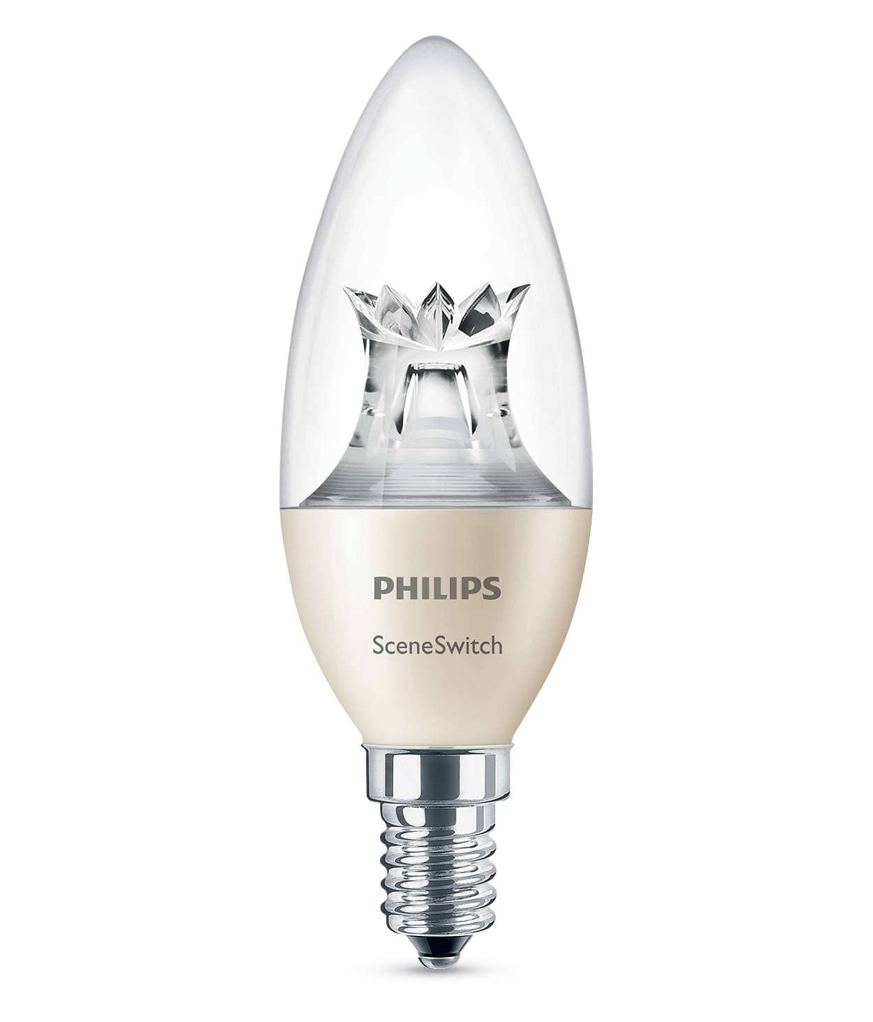 philips e14 led kerze sceneswitch 5 5w 470lm warmweiss jetzt kaufen. Black Bedroom Furniture Sets. Home Design Ideas