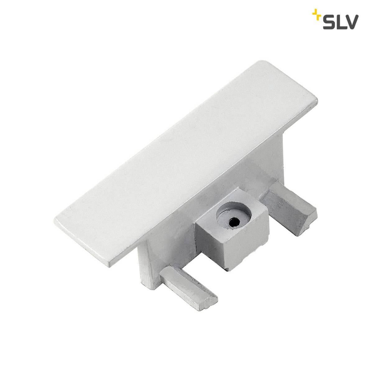 Einbauversion SLV Längsverbinder für 1-Phasen HV-Stromschiene weis