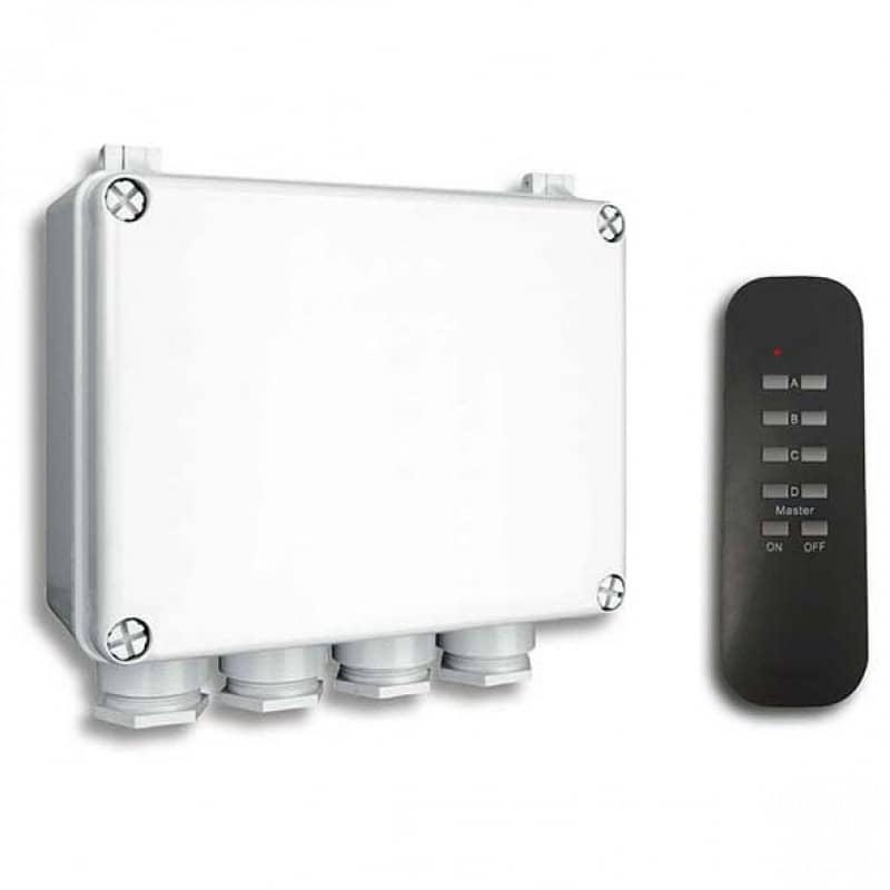 Smartwares 10.043.98 Smarthome Funk 3-Wege-Schalterbox für den ...