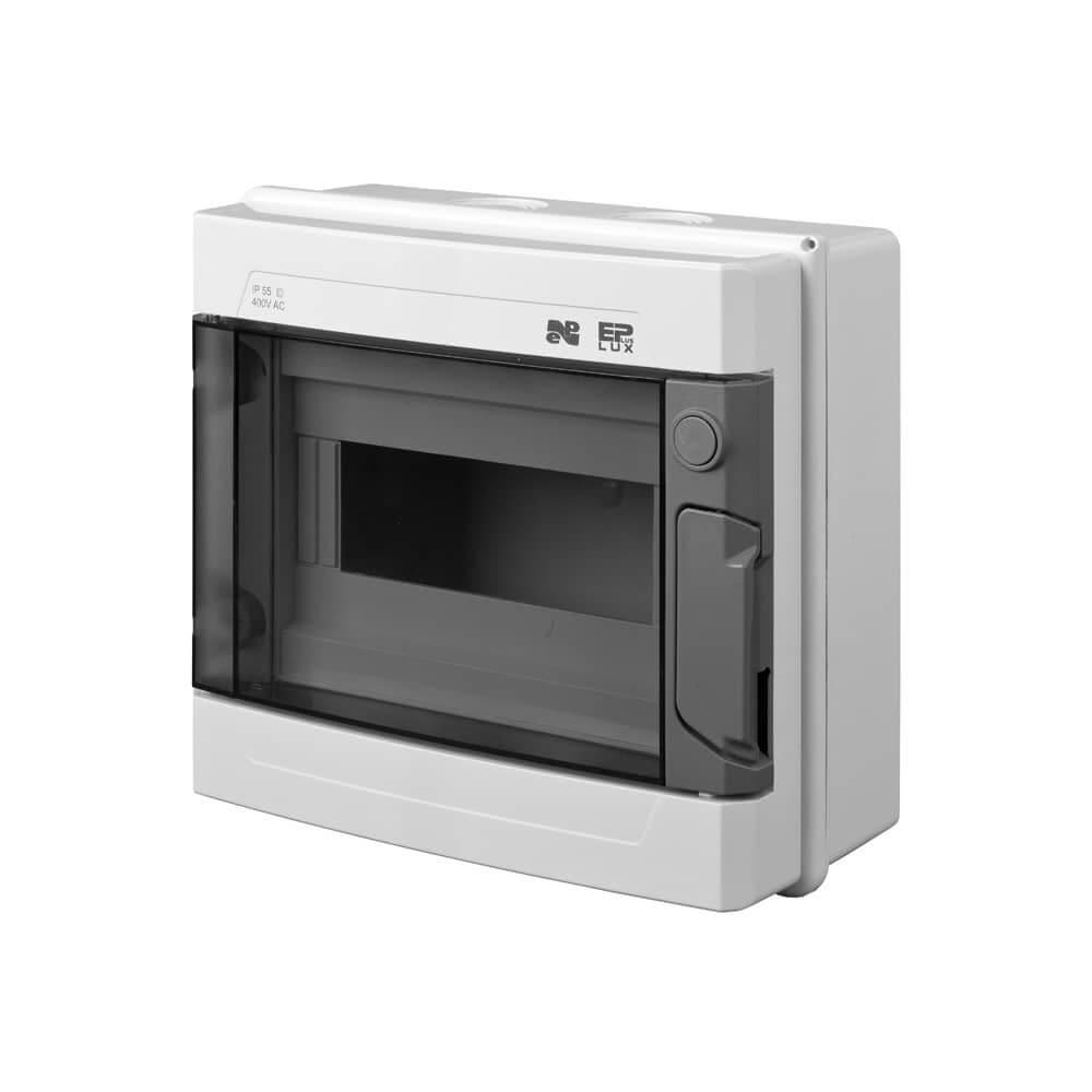 verteilerkasten sicherungskasten max 9 automaten aufputz. Black Bedroom Furniture Sets. Home Design Ideas