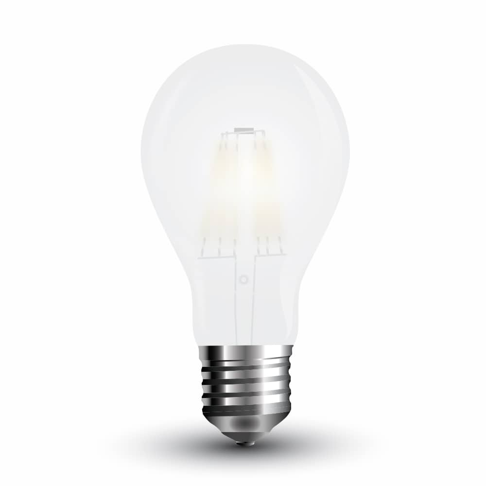 led filament frosted e27 lampe 4w a60 400lm warmweiss matt. Black Bedroom Furniture Sets. Home Design Ideas