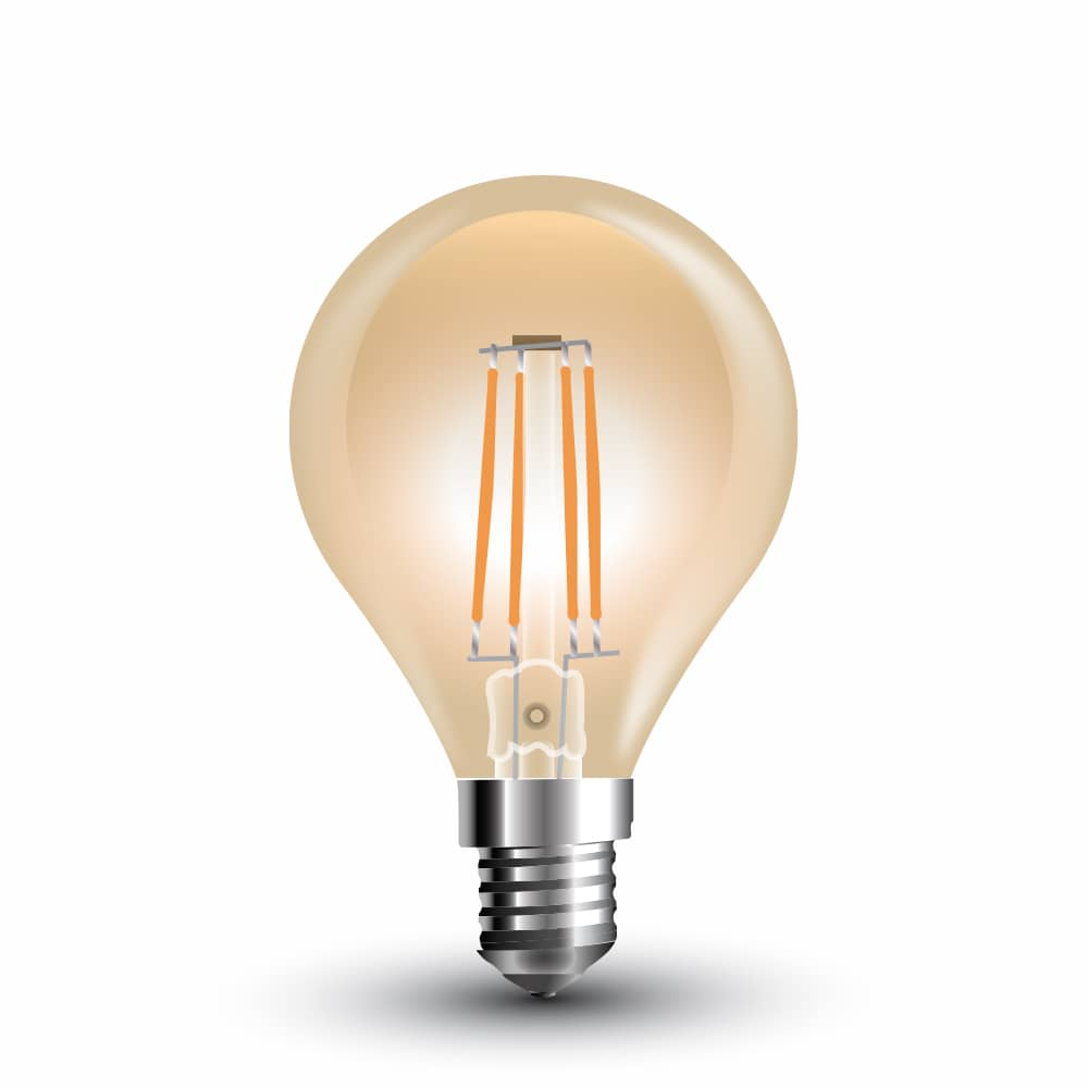 E14 led lampen alternative zu e14 tropfen glhbirnen top preis led filament e14 lampe 4w 350lm extra warmweiss amber gold parisarafo Image collections
