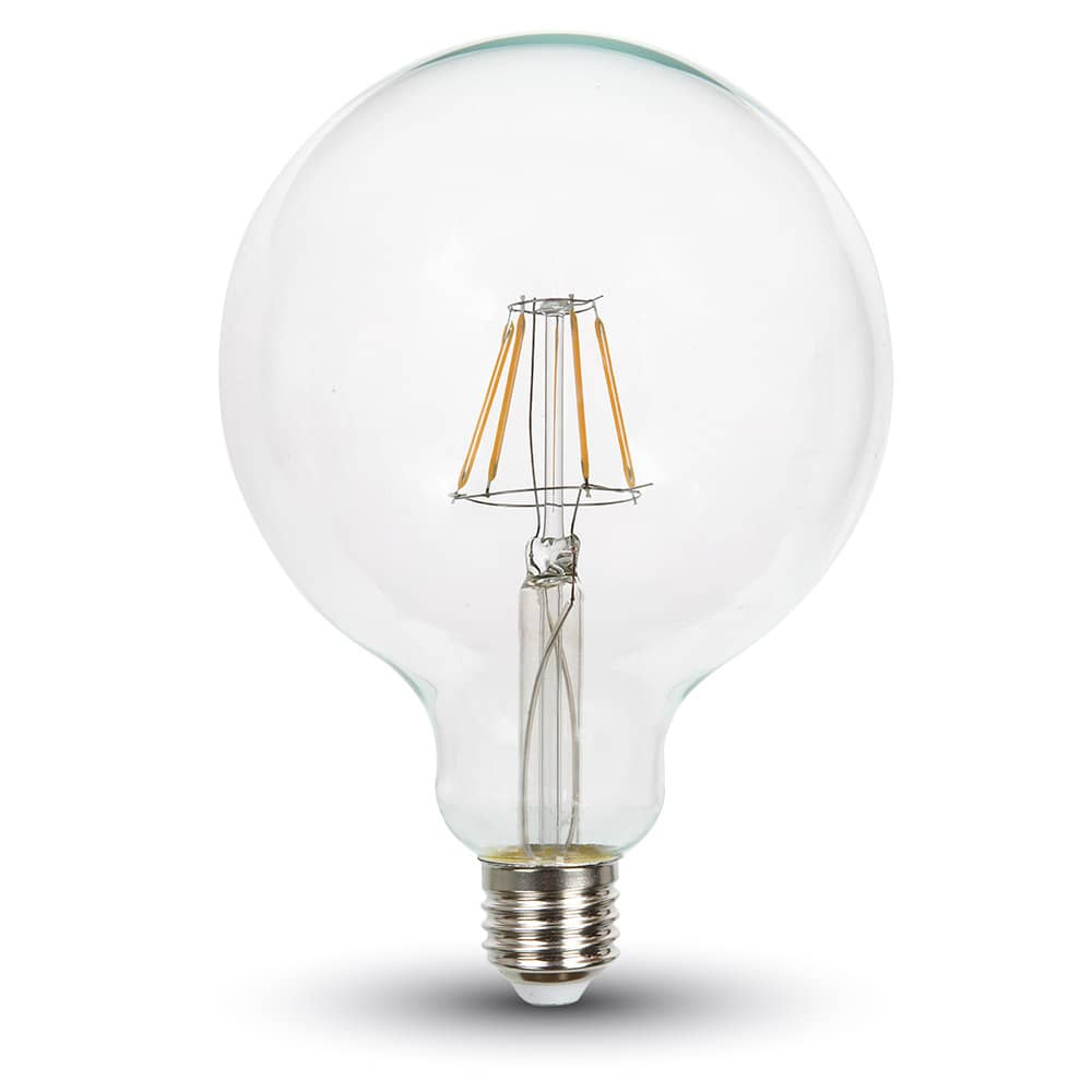 led filament e27 globe 4w 320lm warmweiss dimmbar hier bestellen. Black Bedroom Furniture Sets. Home Design Ideas