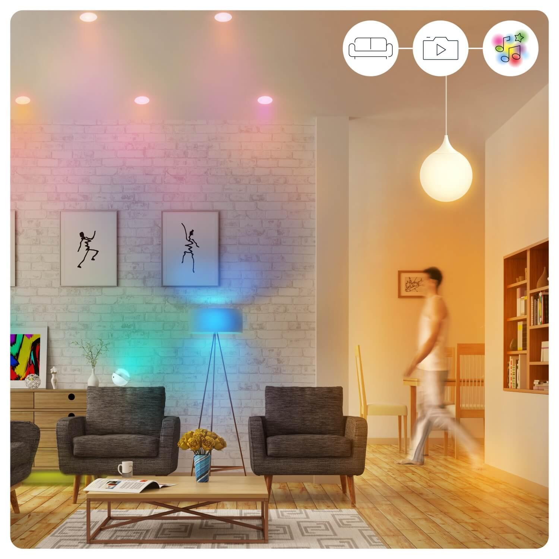 WiZ LED Lampe E20 20,20W 20-62000K RGB Smarthome WLAN. Kompatibel