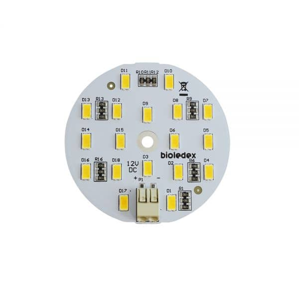 Bioledex LED Modul Ø60mm 12VDC 9W 800Lm 3000K