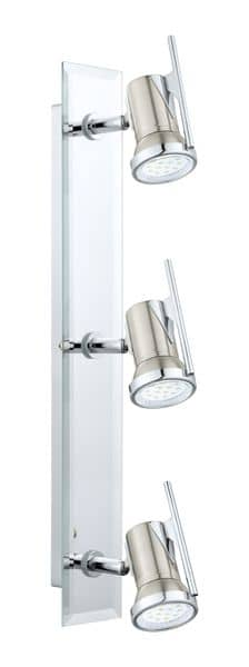 Eglo 31266 Tamara 1 LED Spot 3x2.5W Stahl nickel-matt chrom
