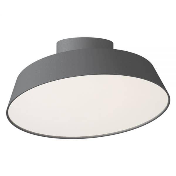nordlux led deckenleuchte alba 12w grau schwenkbar 77196010. Black Bedroom Furniture Sets. Home Design Ideas