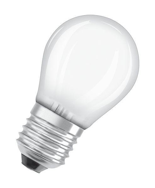 OSRAM Retrofit E27 LED Lampe 4W P40 Filament matt warmweiss wie 40W