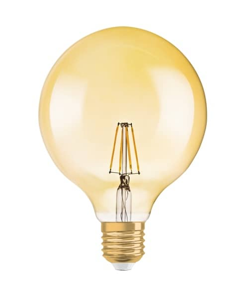 Osram Vintage E27 LED Globe 6.5W 650Lm warmweiss dimmbar