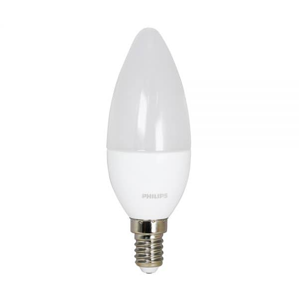 Philips E14 LED Kerze CorePro 6W 470Lm matt warmweiss