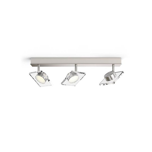 Philips myLiving Golygon LED Deckenleuchte WarmGlow dimmbar 3x45W Warmweiss 5048317P0