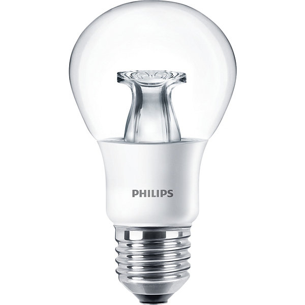 Philips MASTER LED Lampe 6W warmweiss A60 E27 klar DimTone dimmbar 8718696481288